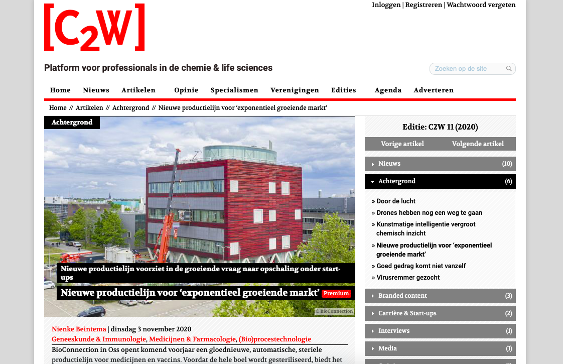 BioConnection in C2W