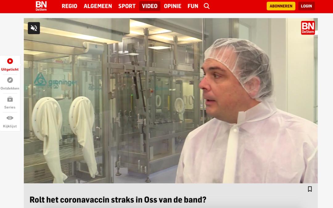 BioConnection Oss interview Brabants Dagblad productie coronavaccin